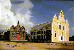Postcard 15 - ANGUILLA - Caribbian - St.Gerard's Roman Catholic Church