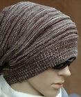 Coffee Cool Unisex Hat Women Men Knit Baggy Beanie Hat Warmer Oversized Ski Cap