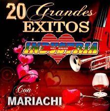 Industria Del Amor : 20 Grandes Exitos Con Mariachi CD