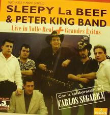 "SLEEPY LABEEF & CARLOS SEGARRA + PETER KING-LIVE IN VALLE REAL  12"" LP DOUBLE"