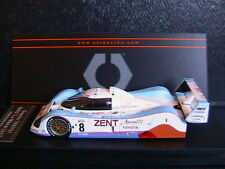 TOYOTA TS010 #8 LE MANS 1992 LAMMERS WALLACE FABI HPI 8566 1/43 ZENT APAN777