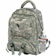 Outdoor Camo School Backpack, Mens Army Military Camping Hiking Laptop Bookbag