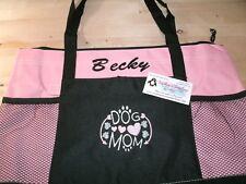 Dog Mom Personalized Tote Bag Dog Mom Tote