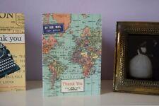 Cavallini & Co Vintage Carte de Remerciement - 10 cartes/enveloppes