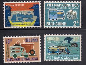 Vietnam-S.   1968   Sc # 331-34   MNH   (1-092)