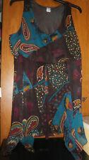 Tunique multicolore MS MODE - Taille 52 - COMME NEUVE !!!