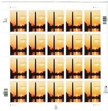 2001 US Scott #3473 $12.95 Washington Monument Sheet of 20 Stamps