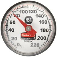 Rubbermaid Commercial Pocket Dial Food Thermometer, FGTHP220C BBQ Grill, Oven...