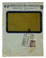 Recapito Autorizzato cent 10 - isolato su busta - 1936