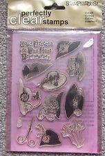 Stampendous Clear Stamp Set SSC036 Chapeau Boutique réduit