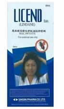 LICEND LINDANE SHAMPOO 90ML Scabies Head Lice Fungus Medicated Hair Treatment