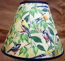 Finch Bird Shade Handmade Lampshade