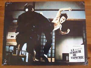 BRUCE LEE LA FUREUR DE VAINCRE 1972 27X21 CM ANDRE GENOVES PHOTO EXPLOITATION