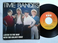 """Time Bandits / Listen To The Man With The Golden Voice 7"""" Vinyl Single 1983"""