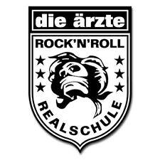 DIE ÄRZTE - Rock n Roll Realschule - Riesen Aufkleber - Sticker - Neu  Aufkleber