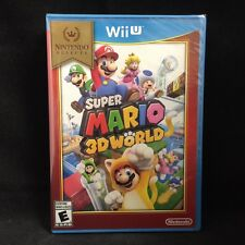 Super Mario 3D World  (Wii U) Brand New / Nintendo Selects