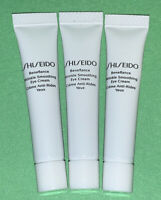 Lot Of 3 Shiseido Benefiance Wrinkle Smoothing Eye Cream .17 oz = .51 oz Travel