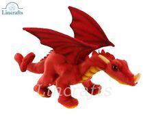 Hansa 30cm Red Dragon Plush Soft Toy 5937-