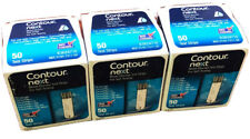 New Box 150 Strips Bayer Contour Next Blood Glucose Test Strips exp: 2021/09/30