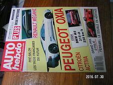 1µ?§ Revue Auto Hebdo n°642 GP Italie Ferrari Poster 1000 lacs Auriol & OXIA