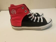 Vintage Converse Chuck Taylor Women High tops Pink and Black size 5 punk retro