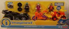 DC Super Friends By Imaginext Gift Set Batman Joker Robin Batmobile Jokercycle
