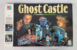 Ghost Castle MB Games The Haunted House of Horrors Board Game 1985 Complete