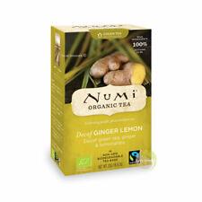Citron gingembre Numi tea thé vert Bio déthéiné
