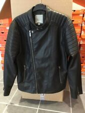 Bench Men's Faux Leather Jacket ~ BMKD0068 ~ Size XL