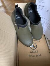 Aigle Mens Garden Clogs Kaki Size 44