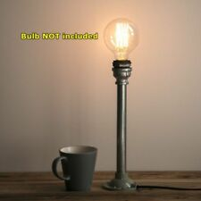Rustic Industrial Pipe Table Lamp Lighting DIY Kit PL006