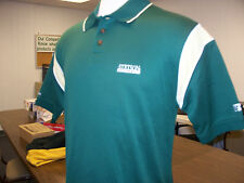 Stetson Hatters NCAA Adult Medium Dry Fit Stitched Polo Golf Shirt