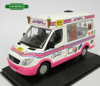 BNIB O GAUGE OXFORD 1:43 43WM008 Whitby Mondial Ice Cream Van Mr Whippy