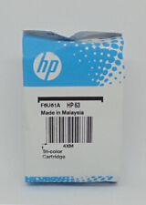 New HP #63 Color Ink Cartridge 63 F6U61AN Genuine