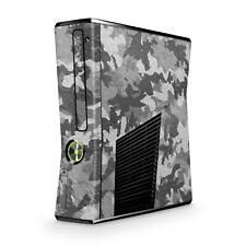 Xbox 360 Slim Skin Aufkleber Schutzfolie Sticker Skins Folie Design Urban Camo C