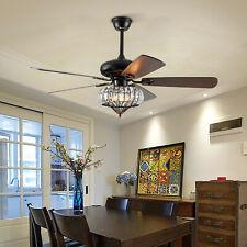 """220V 52"""" Fernbedienung Deckenventilator Deckenlampe Beleuchtung ceiling fan lamp"""