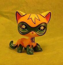 Littlest Pet Shop Comic Con Cat Masked Super Hero USA Fast Ship