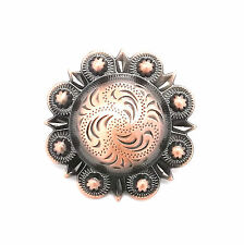 "Berry Concho Antique Copper Screw Back 3/4"" 7863-10"
