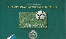 Saint Marin San Marino Sport Coupe Monde Football France World Cup **1998 Carnet