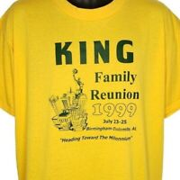 King Family Reunion T Shirt Vintage 90s 1999 Alabama Made In USA Size Large