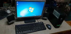SFF PC computer acer emachines EL1850 Pentium E5400 500GB 4GB DDR3 WINDOWS 7
