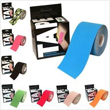 NT Sports Kinesiology Tape Elastic Physio Muscle Support Tape 5m x 5cm 8 Colours