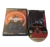 PS2 Vampire Night Sony PlayStation 2 Video Game Import JAPAN- US Seller