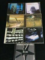 LOT OF 7 ROCK CD'S -  Staind, Creed, 3 Door Down,Matchbox Twenty, Nickelback,REM