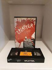 SPLATTER / PRE CERT, DPP & NASTY INTEREST / AUSTRALIAN / VHS / ***VERY RARE***