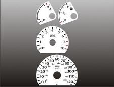 1995-1999 Dodge Neon TACH Dash Cluster White Face Gauges 95-99