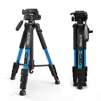 Zomei Pro Portable heavy-duty Camera Tripod Pan head QR Plate for DSLR Camera