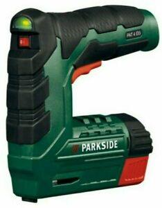 Parkside Cordless Nailer Stapler PAT4D5 Germany 2020 2Ah