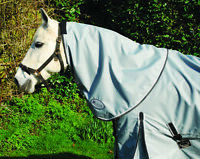 Rhinegold Elite Monsoon Lightweight Horse Turnout Rug with Neck Cover Incl 4'6''