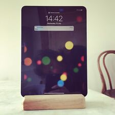Wood Stand Holder for Ipad Tablet Chalkboard